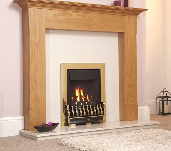 Additional image of Flavel Stirling Plus Open Fronted High Efficiency Slimline Gas Fire
