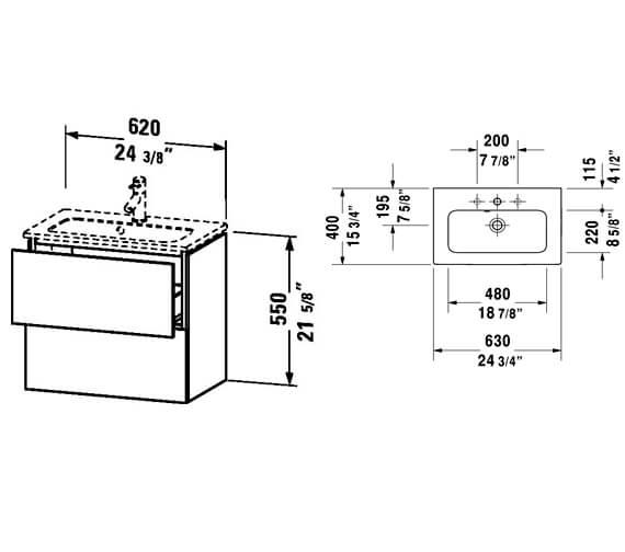 Technical drawing QS-V80803 / LC625601818