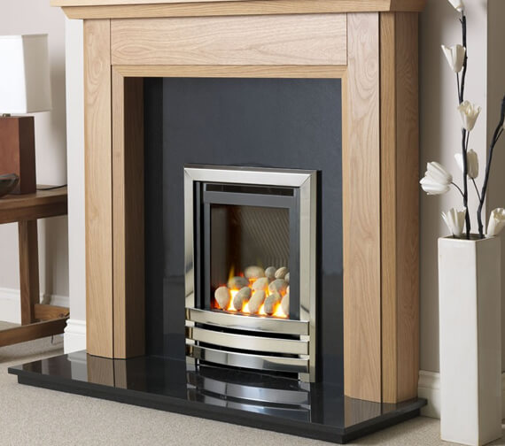 Flavel Linear HE Manual Control Hearth Mounted Gas Fire