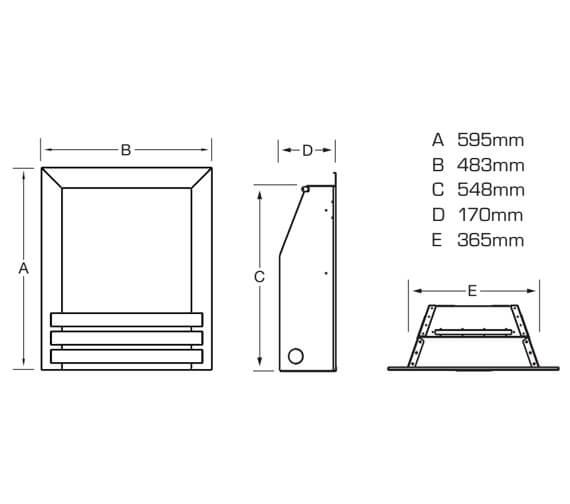 Technical drawing QS-V90887 / FKPCU0MN