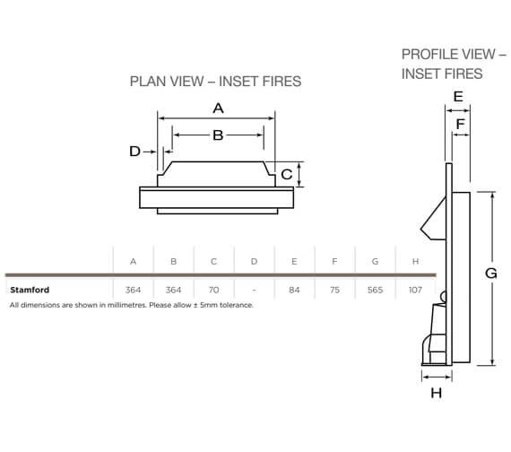 Technical drawing QS-V96174 / 142958CH