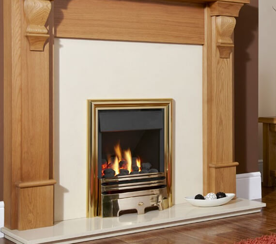 Additional image of Flavel Opulence Plus Open-Fronted High Efficiency Inset Gas Fire