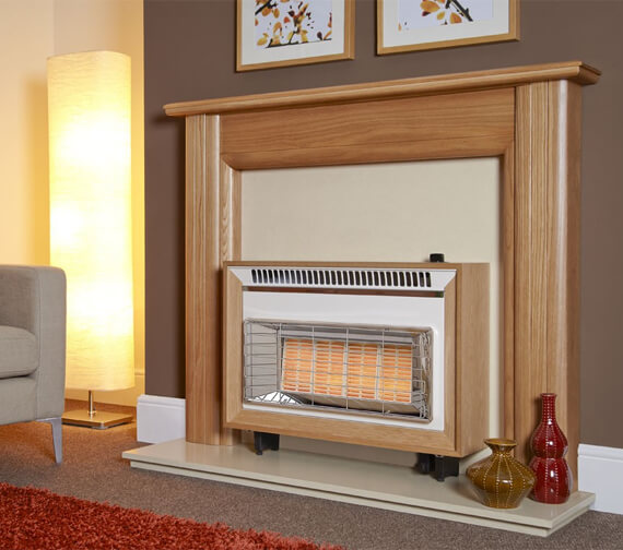 Additional image of Flavel Misermatic Top Control Slimline Outset Gas Fire