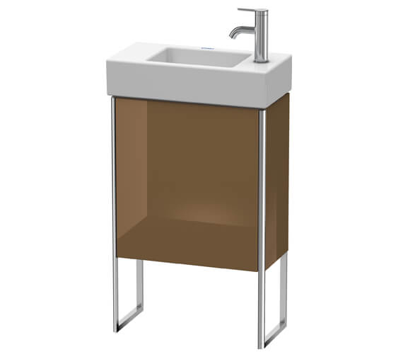 Alternate image of Duravit XSquare 1 Left-Hand Hinged Door Floor-Standing Vanity Unit 484 x 240 x 731mm