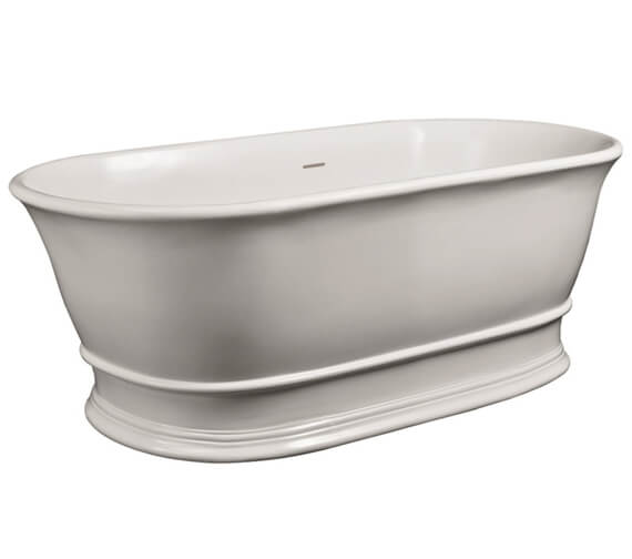 Hudson Reed Farringdon 1550 x 750mm Double Ended Freestanding Bath