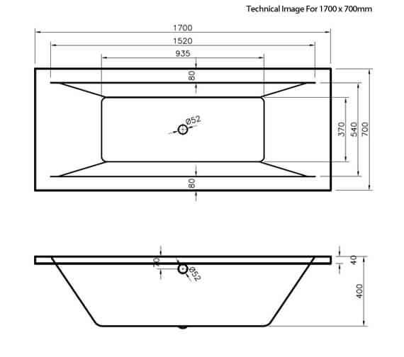 Technical drawing QS-V73405 / NBA209