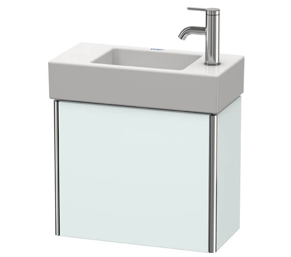 Additional image of Duravit XSquare Wall-Mounted 1 Left-Hand Hinged Door Vanity Unit 484 x 240 x 397mm