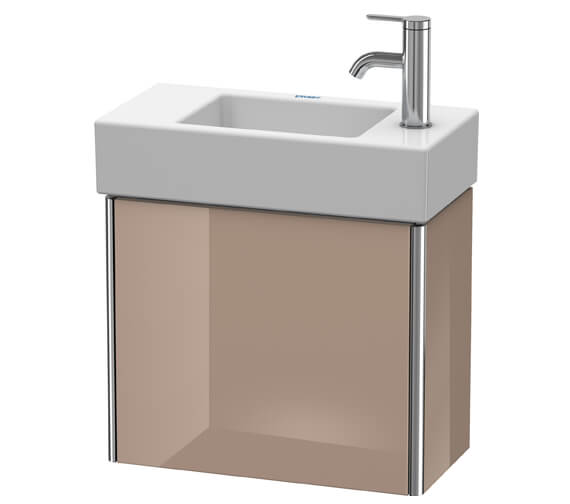 Alternate image of Duravit XSquare Wall-Mounted 1 Left-Hand Hinged Door Vanity Unit 484 x 240 x 397mm
