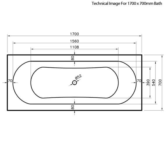 Technical drawing QS-V73398 / NBA509