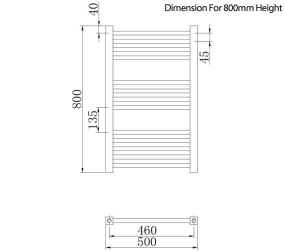 Technical drawing QS-V4055 / MTY108