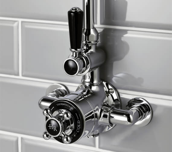 Hudson Reed Topaz Twin Exposed Thermostatic Shower Valve