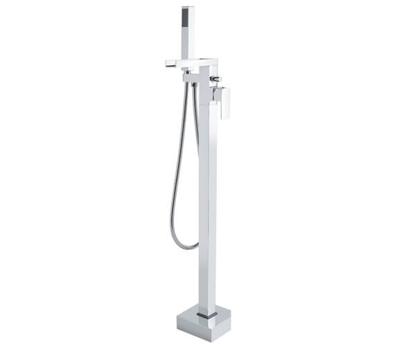 Hudson Reed Art Floor Standing Bath Shower Mixer Tap