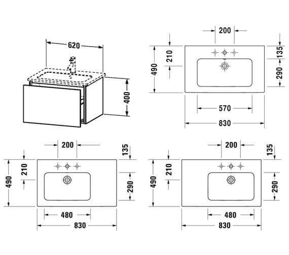 Technical drawing QS-V63776 / LC614001818