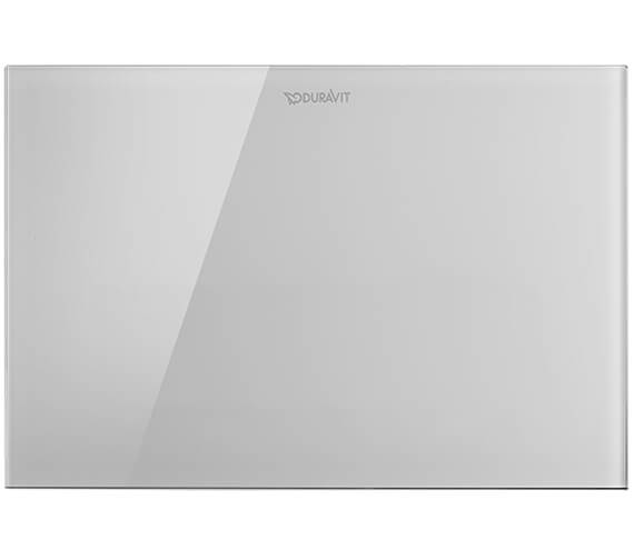 Duravit DuraSystem Actuator Plate A2 Glass White