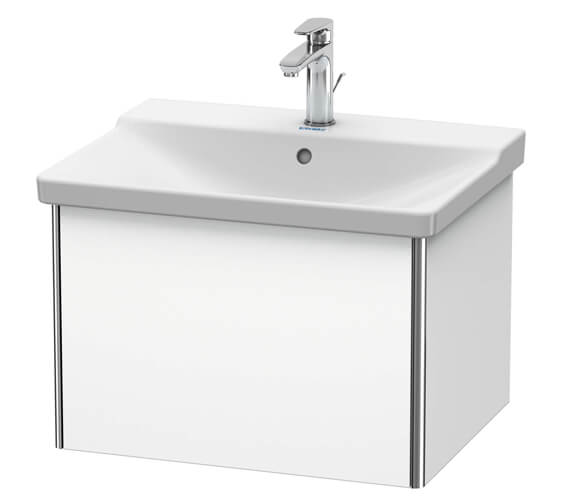 Duravit XSquare Wall Mounted 1 Drawer Vanity Unit For P3 Comforts Basin