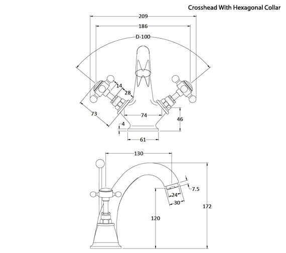 Technical drawing QS-V38746 / BC305DX