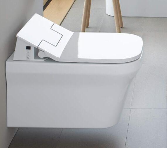 Duravit Darling New Wall Mounted Rimless SensoWash Toilet