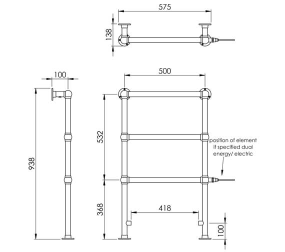 Technical drawing QS-V88624 / LG024C BR093057CP