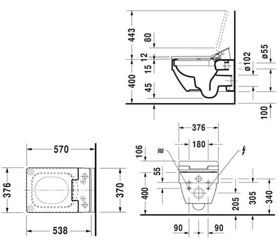 Technical drawing QS-V96202 / 611500002304300