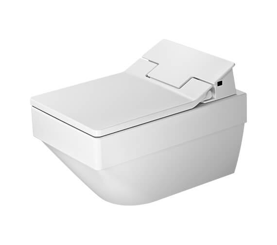Duravit SensoWash Slim Seat With Vero Air Wall Mounted Rimless Toilet