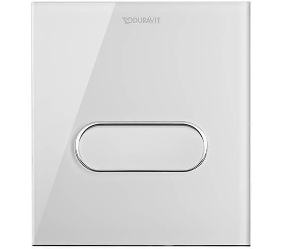 Duravit DuraSystem Actuator Plate A1 Glass White