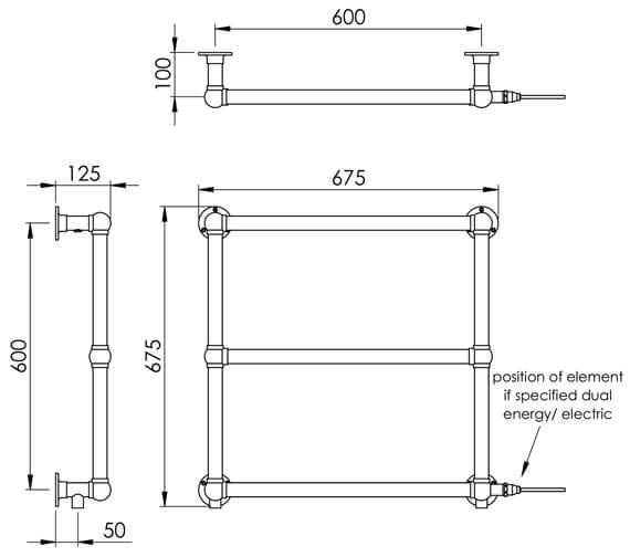 Technical drawing QS-V88620 / LG025A BR067067CP