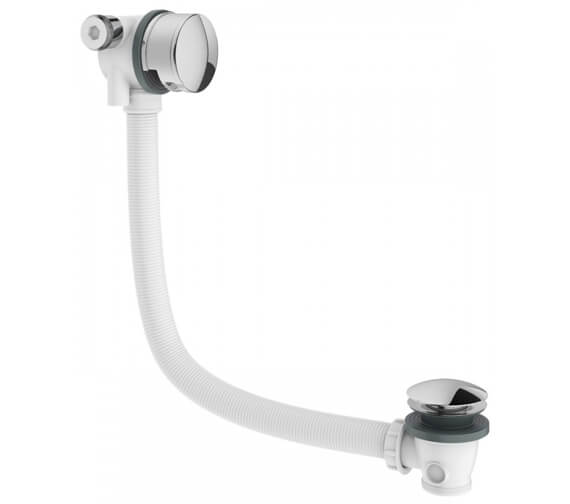 Crosswater MPRO Bath Filler With Click Clack Waste