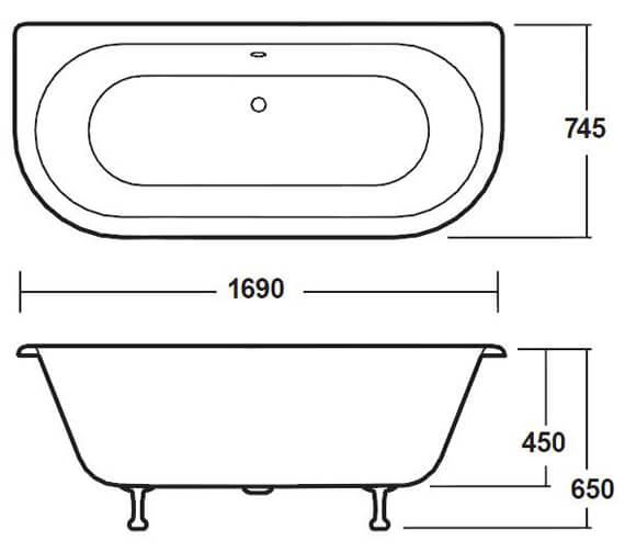 Technical drawing QS-V26587 / RE1701C2