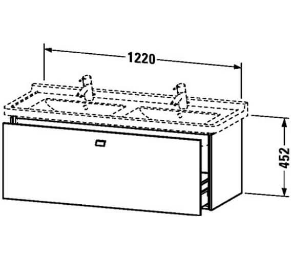 Technical drawing QS-V95822 / BR404401818