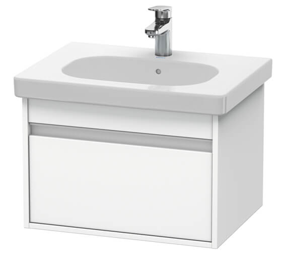 Duravit Ketho 600mm 1 Box Drawer Wall-mounted Vanity Unit For D-Code Basin