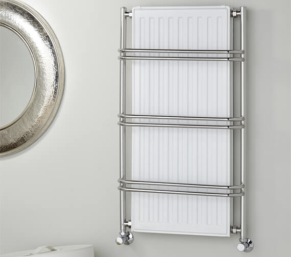 Vogue Nexus III 525 x 900mm Traditional Towel Rail