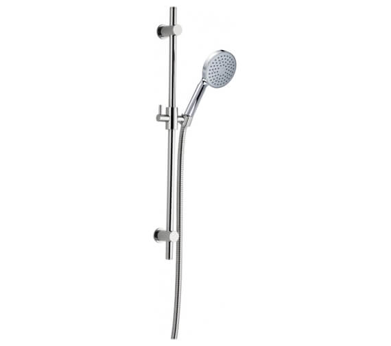 Pura Essence Shower Riser Rail Kit With Single Function Handset And Hose