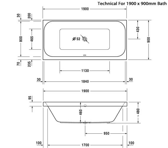 Technical drawing QS-V24881 / 700327000000000