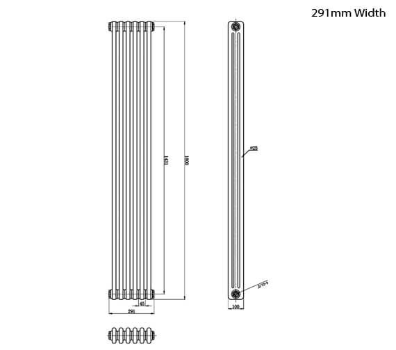 Technical drawing QS-V95151 / HX311