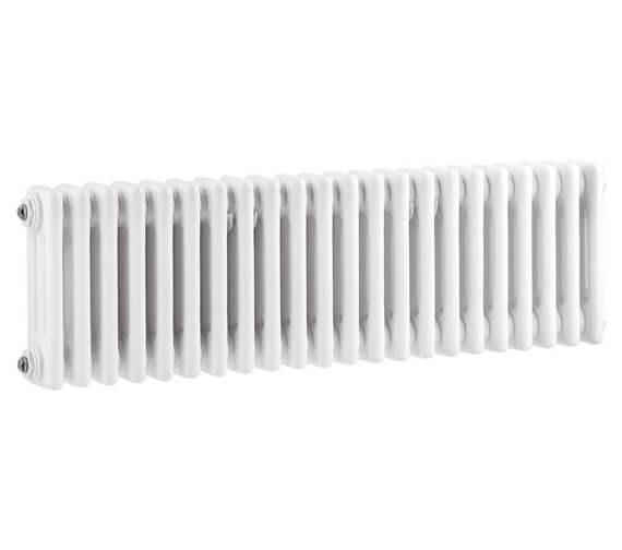 Hudson Reed Colosseum 1011 x 300mm White Traditional Triple Column Radiator
