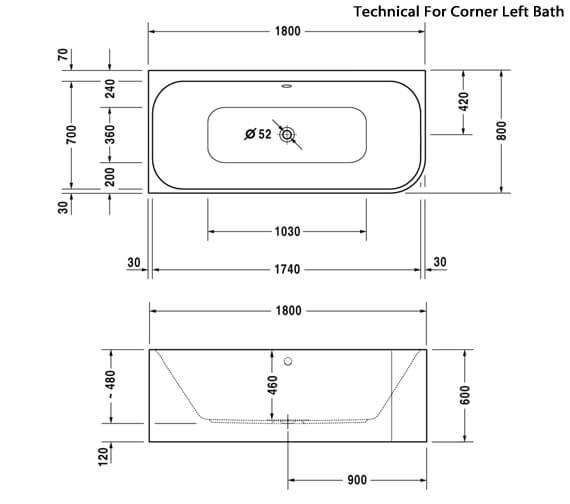 Technical drawing QS-V24876 / 700316000000000