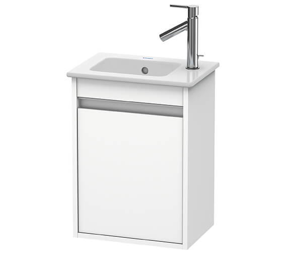Duravit Ketho 1 Door 400mm Wall-mounted Vanity Unit For ME By Starck Basin