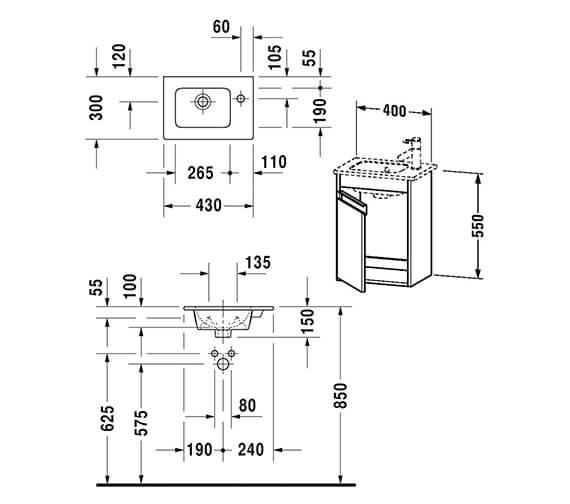 Technical drawing QS-V42521 / KT6417L1818