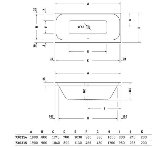 Technical drawing QS-V3570 / 760314000JS1000