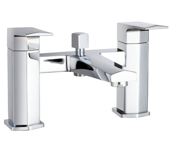 Hudson Reed Hardy Bath Shower Mixer Tap With Shower Kit