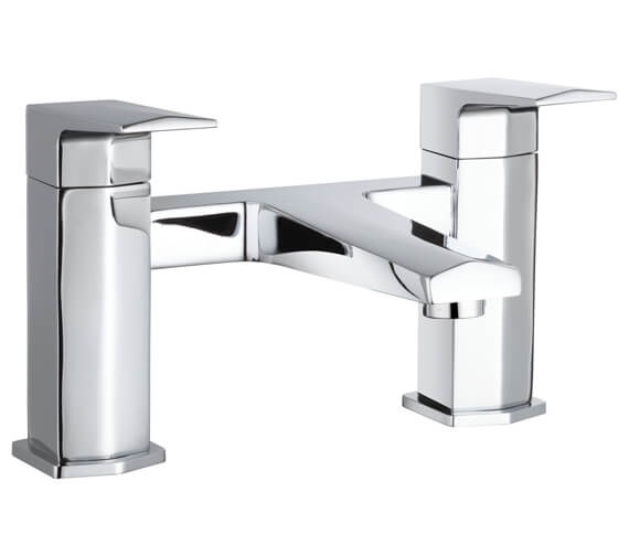 Hudson Reed Hardy Deck Mounted Bath Filler Tap Chrome