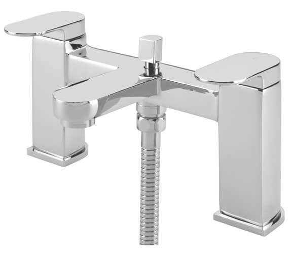 Tre Mercati Letto Pillar Bath Shower Mixer Tap With Kit