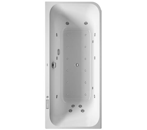 Duravit Happy D2 1800 x 800mm Left Hand Corner Bath With Panel Combi System E