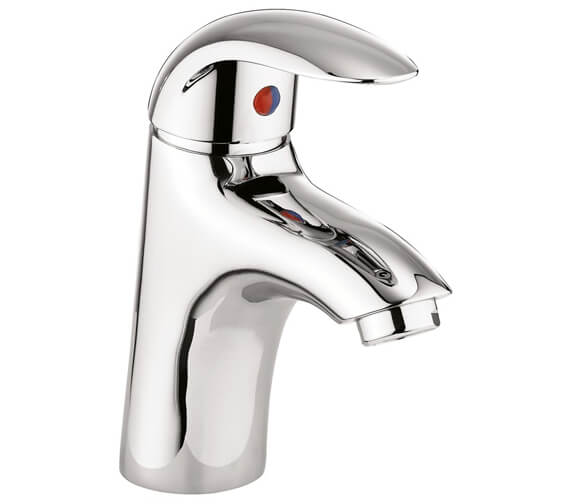 Crosswater Sky Basin Monobloc Tap With Click Clack Waste