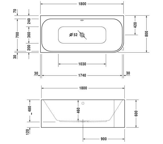 Technical drawing QS-V3581 / 760316000CL1000