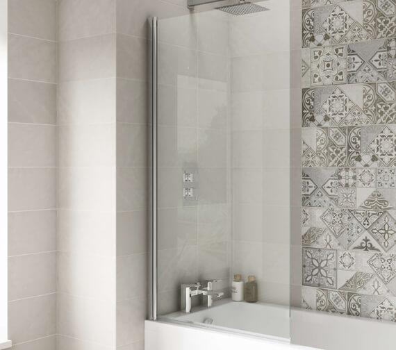 Premier 1435mm High Square Bath Screen