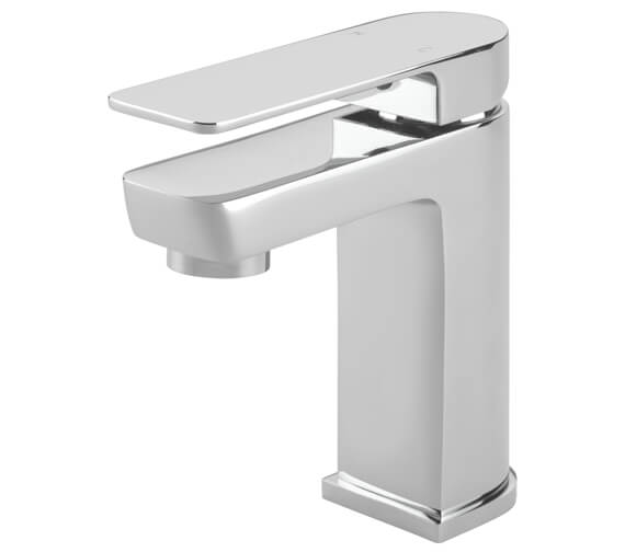 Tre Mercati Disc Mono Basin Mixer Tap With Click Clack Waste