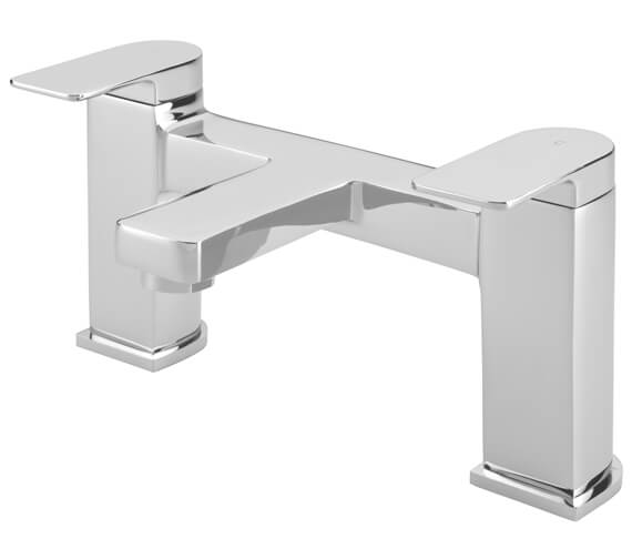 Tre Mercati Disc Pillar Bath Filler Tap