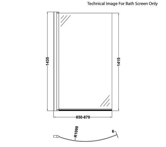 Technical drawing QS-V60417 / NBBS1