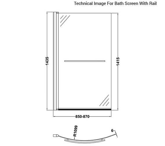 Additional image for QS-V60417 Nuie Bathroom - NBBS1
